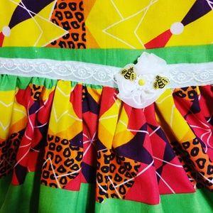 Other - Girls 2piece handmade African dress